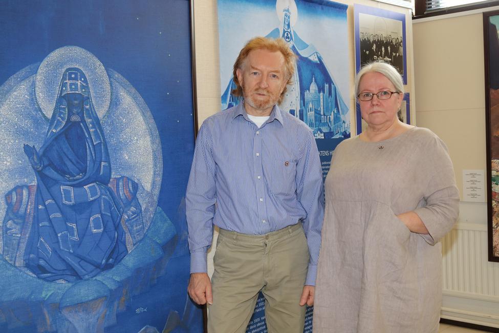 По словам Паулы и Юрия Лииматта, Министерство культуры России захватило Музей им. Н.К.Рериха в Москве весной 2017 года