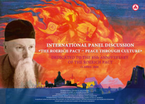 "On April 15, 2020, the International Round Table ""The Roerich Pact – Peace through Culture"" was held"