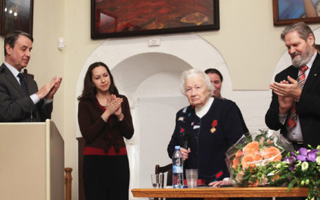 Награждение орденом «За заслуги перед Отечеством» Людмилы Васильевны Шапошниковой