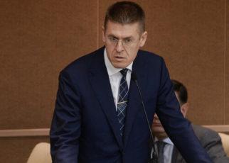 Заместитель министра культуры Владимир Аристархов