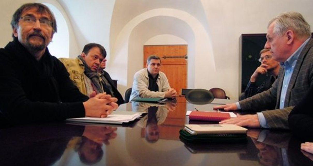 Встреча представителей ГМВ и МЦР