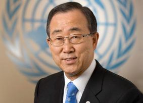 BAN KI-MOON: I wish to thank the International Centre of the Roerichs for organizing this inspiring display