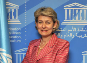 IRINA BOKOVA:  I visited the Roerich Museum with great excitement
