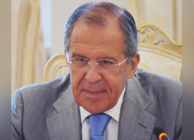 SERGEY LAVROV:  Your irrepressible vital energy causes true admiration
