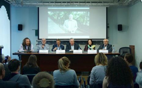 Пресс-конференция в Росбалте