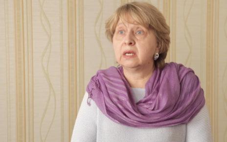 Елена Купченко - ответсвенный хранитель произведений Рерихов