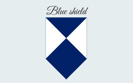 Голубой щит