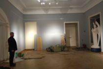Зал Живой Этики после захвата Музея