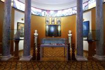Зал Учителей до захвата Музея