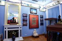 Зал Ю.Н. Рериха до захвата Музея