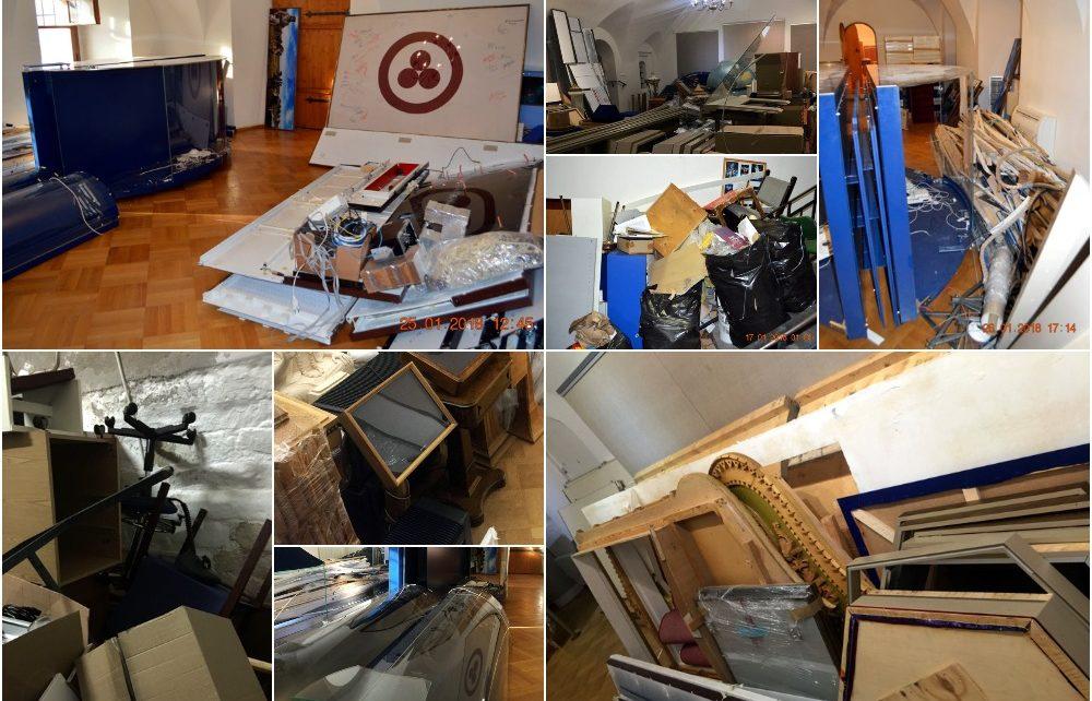 Фотохроника погрома общественного Музея имени Н.К. Рериха