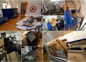 Photochronology of the Non-Governmental Nicholas Roerich Museum's damage