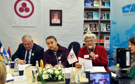 Рига. Круглый стол «Пакт Рериха вчера, сегодня, завтра. К 80-летию Первого конгресса Прибалтийских обществ Рериха»