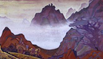 """Nicholas Roerich's picture """"Confucius the Fair"""""""