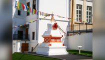 Буддийская ступа до захвата Музея