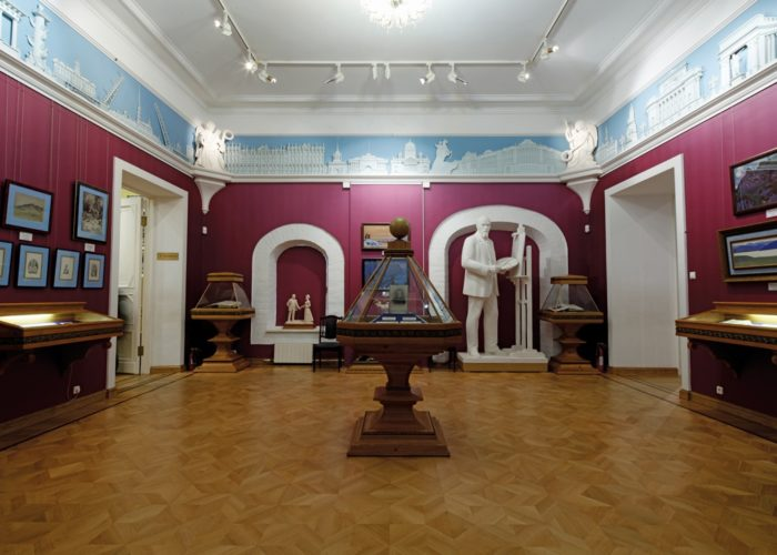 Petersburg Hall before the capture of the Museum