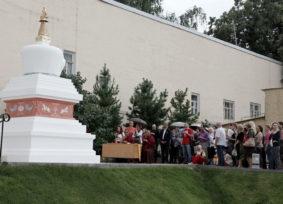 ГМВ требует от МЦР немедленного сноса буддийской ступы в центре Москвы // Портал-Credo.Ru